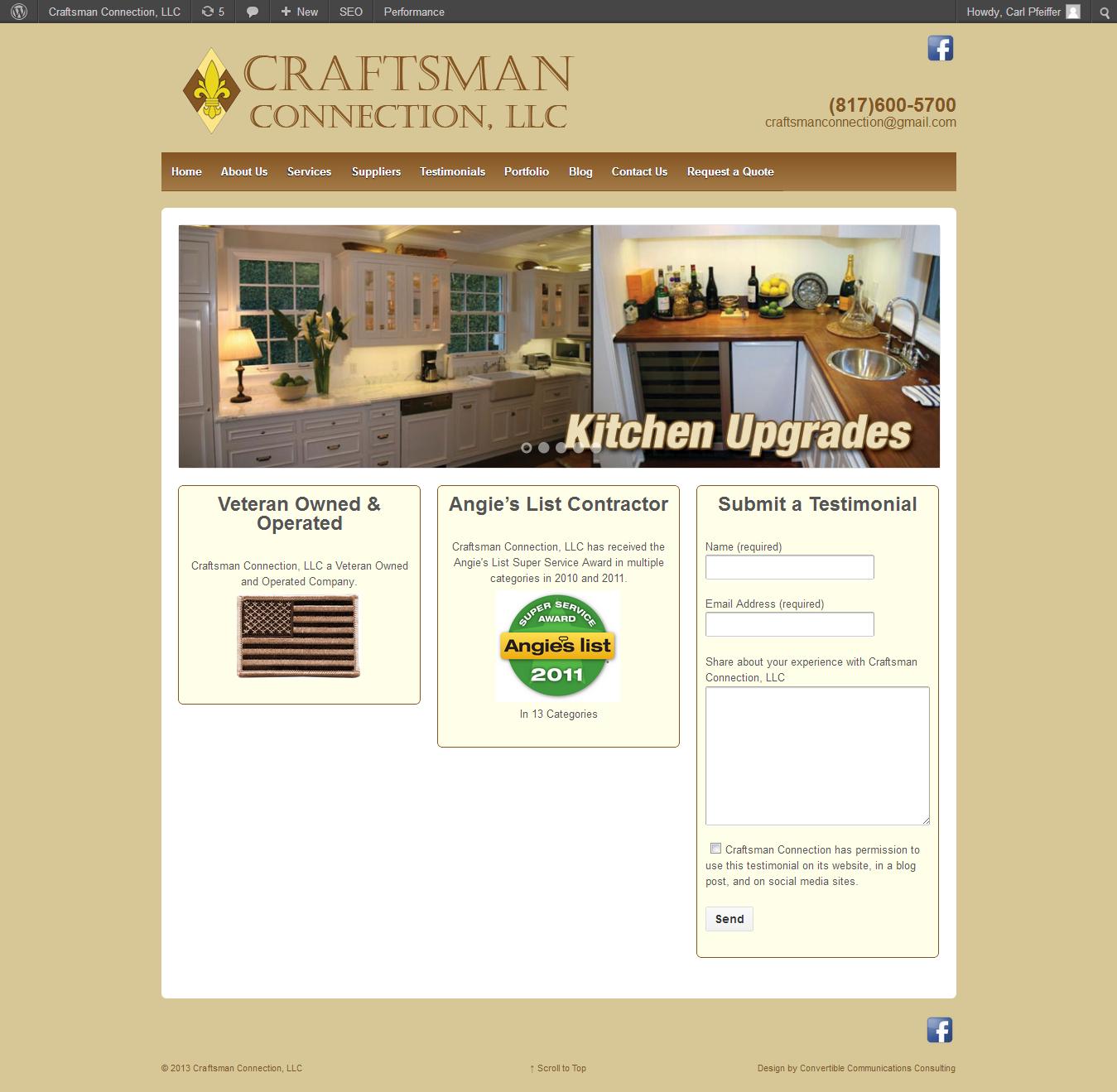 craftsman connection website