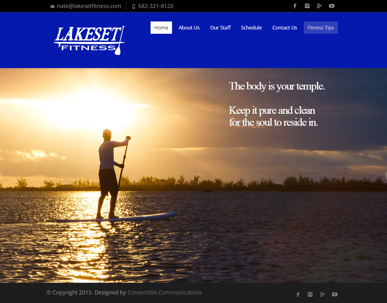 lakeset fitness website