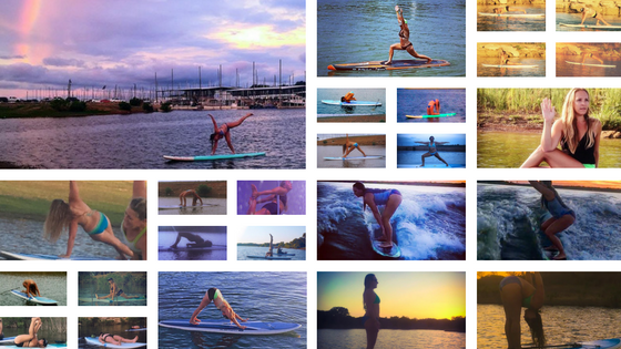 30 day sup yoga social media challenge