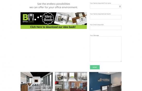 B&H Office Solutions Website