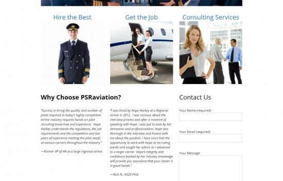 PSR Aviation Website