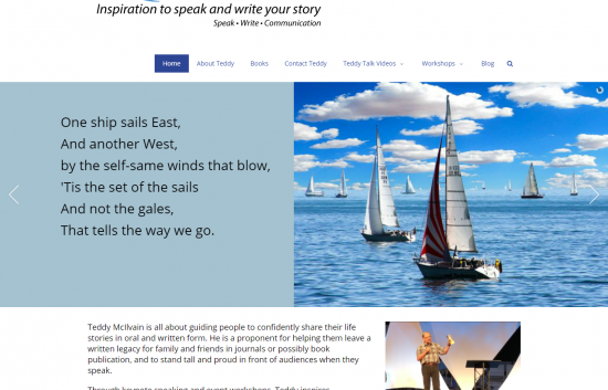 SpeakWrite Communications Website