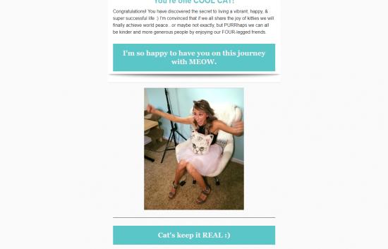 Instagram Cat Mom Update