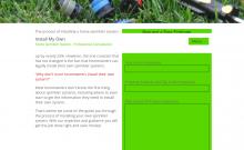 Install My Own Sprinkler System Website
