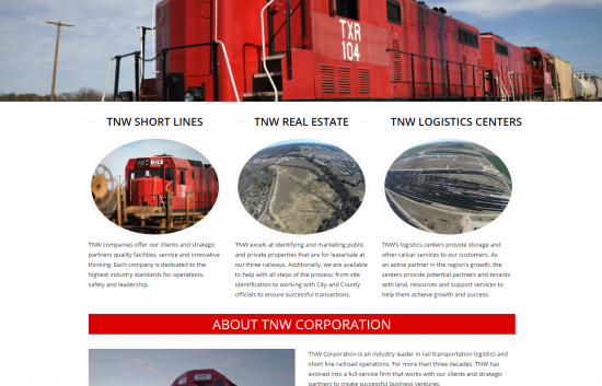 TNW Corporation Website