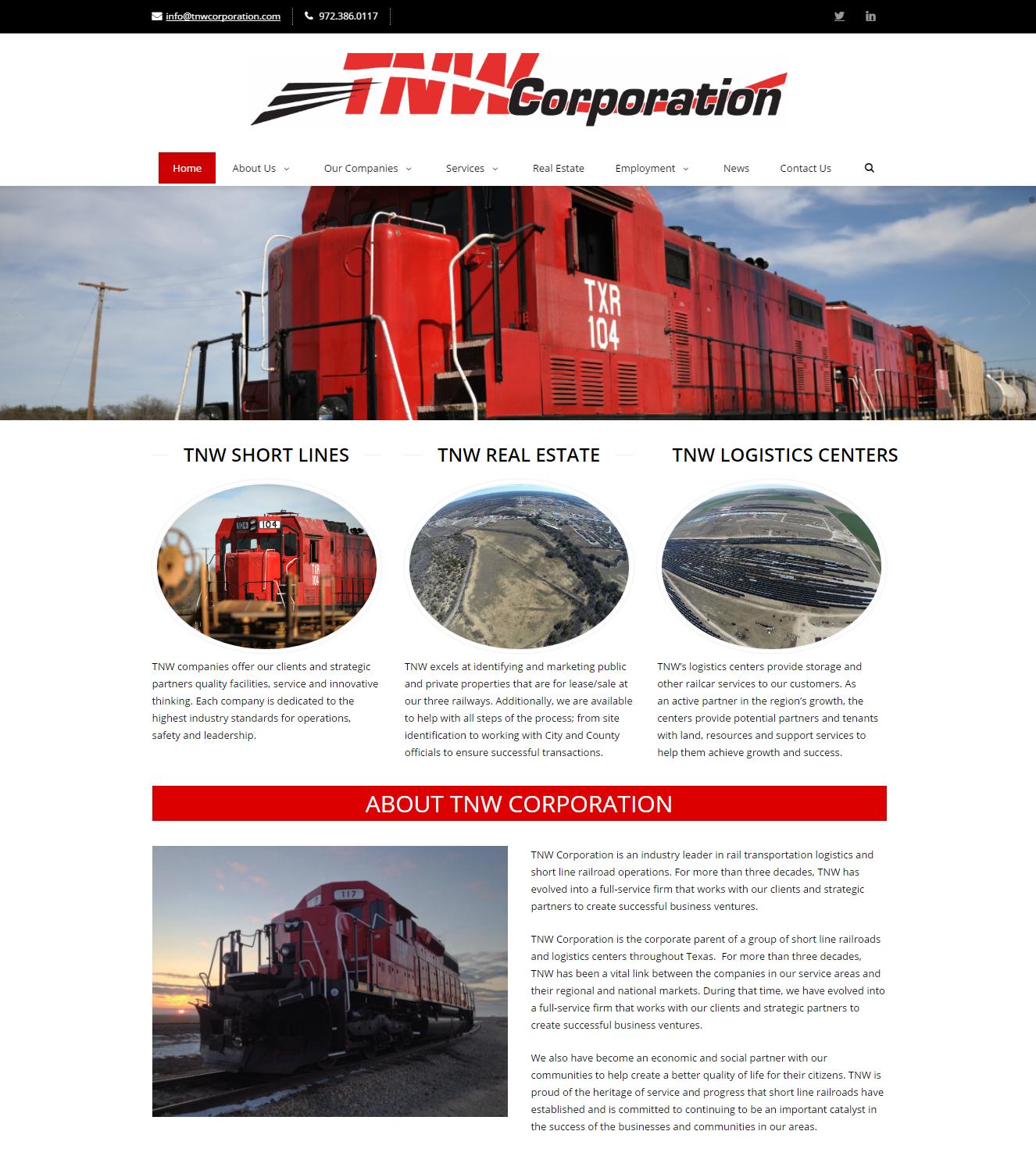 TNW Corporation Website