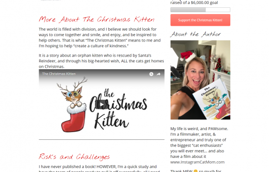 The Christmas Kitten Website