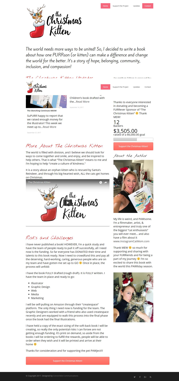 The Christmas Kitten Website